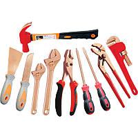 Набор инструментов искробезопасных 10пр., в сумке GARWIN (GSK-2110)