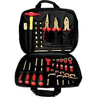Набор инструментов искробезопасных 26пр., в сумке GARWIN (GSK-0926)