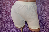 Женские белые трусы панталоны, хлопок