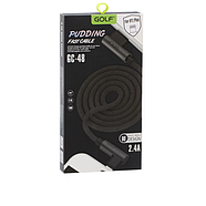Кабель Golf GC-48I Lightning Black, фото 2
