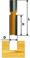 Фреза пазовая прямая ф12х19мм хв.8мм (арт.9212)
