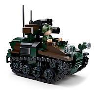Конструктор SLUBAN M38-B0750 АРМИЯ -  Танк (245 дет.)