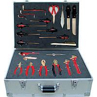 Набор инструментов искробезопасных 40пр., в алюминиевом кейсе GARWIN (GSK-1340), фото 1
