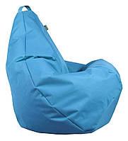 Кресло груша Оксфорд Голубой TIA-SPORT, фото 1