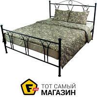 Комплект постельного белья двуспальный 175x215 см хлопок серый Руно 655.114БК 50x70см, двуспальный (4433)