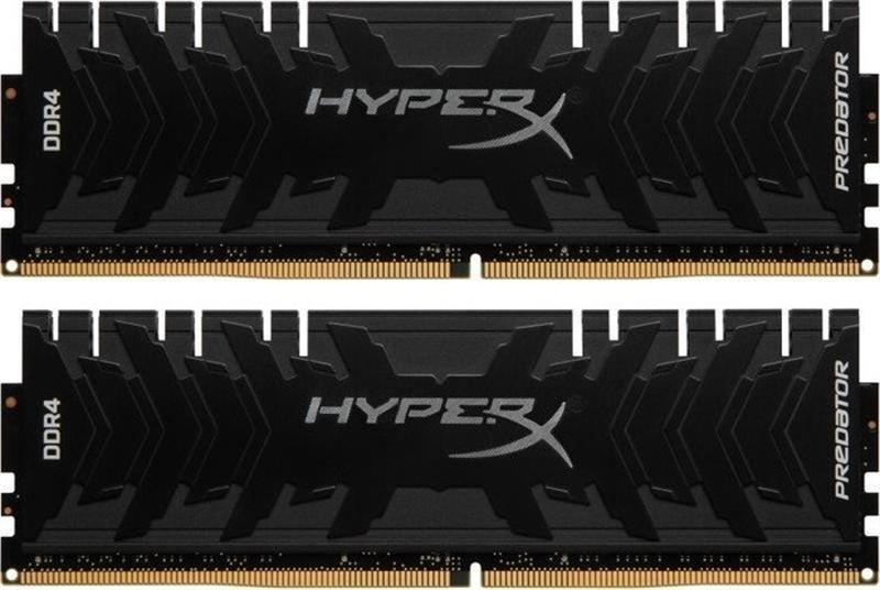 Модуль памяти DDR4 2x8GB/4266 Kingston HyperX Predator Black (HX442C19PB3K2/16)