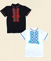 Вышиванка для мальчика короткий рукав интерлок