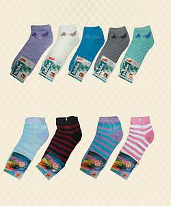 Носки женские короткие цветные