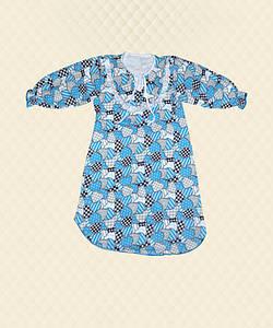 Ночная сорочка для девочки Бабочка начес