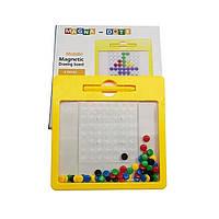 Магнитный планшет мозаика с карточками Mag Pad Dots Средний, фото 1