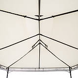 Палатка альтанка садовая Milano 3 x 4 м беж Германия, фото 9