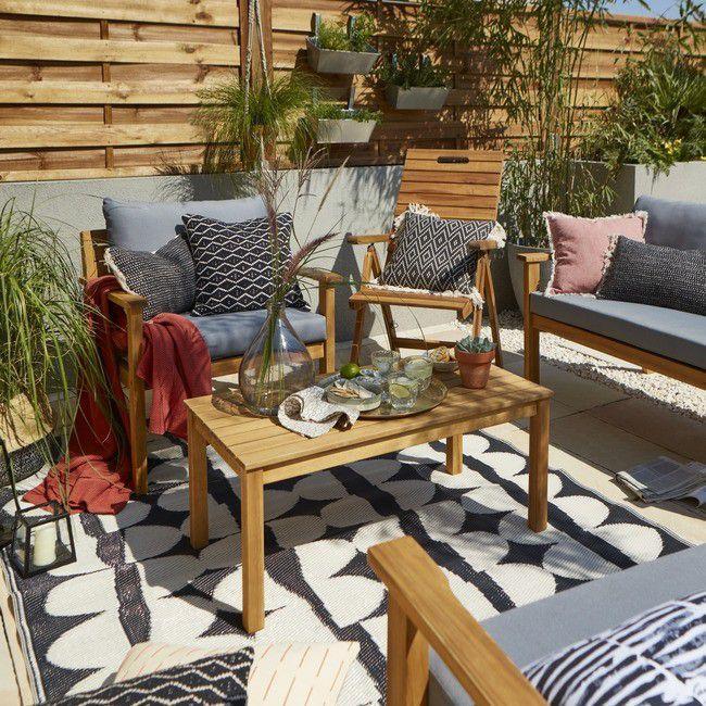 Набор садовой мебели для террасы DENIA акация