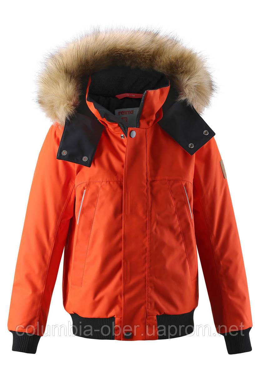 Зимняя куртка для мальчика Reimatec Ore 531407-2770. Размер 128.