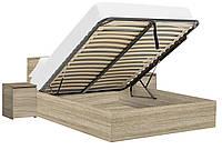 Кровать с подъемным механизмом 160x200cm + матрас + комоды 2 шт