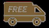 Акция - бесплатная доставка