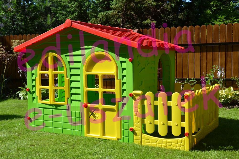 Дитячий будиночок MOCHTOYS ХХL з терасою Польща