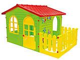 Дитячий будиночок MOCHTOYS ХХL з терасою Польща, фото 2