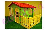 Дитячий будиночок MOCHTOYS ХХL з терасою Польща, фото 5
