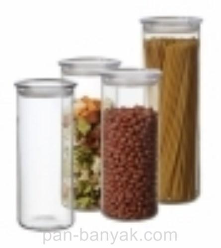 Банка для сыпучих Simax  d9,5 см h9,5 см ударопрочное стекло (5162 Simax)