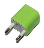 Адаптер-перехідник для USB кабелю (220V) кубик