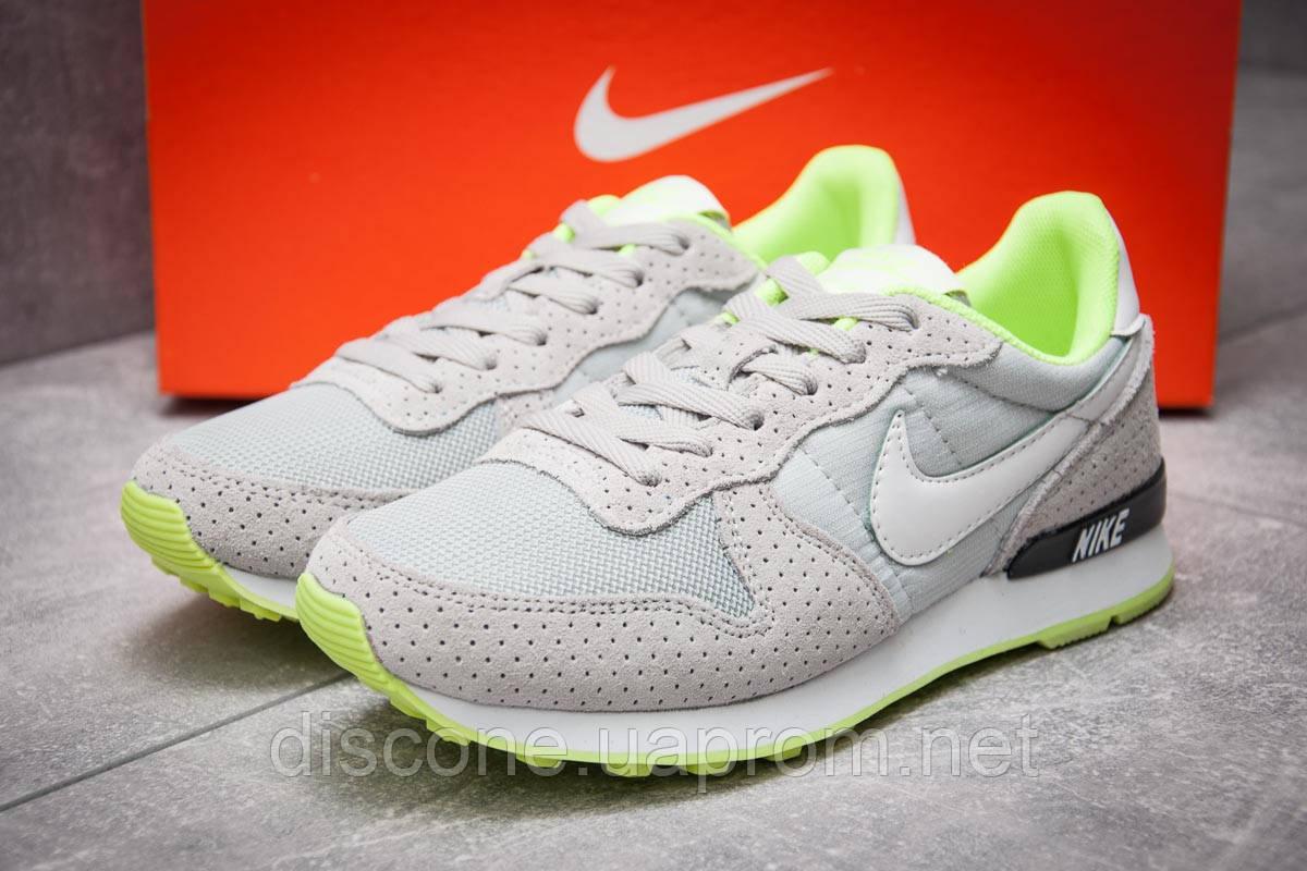 Кроссовки женские 12922 ► Nike Internationalist, серые ✅Скидка 31% [ 36 38 ] ► (36-22,6см)