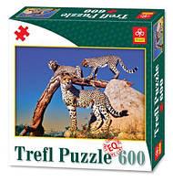 "Пазлы ""Леопарды"", 600 элементов 89001"