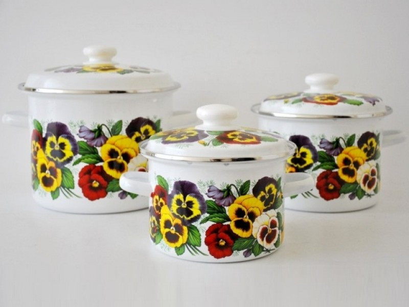 Набір посуду Epos Силетта 6 предметів емаль (№5 Силетта)