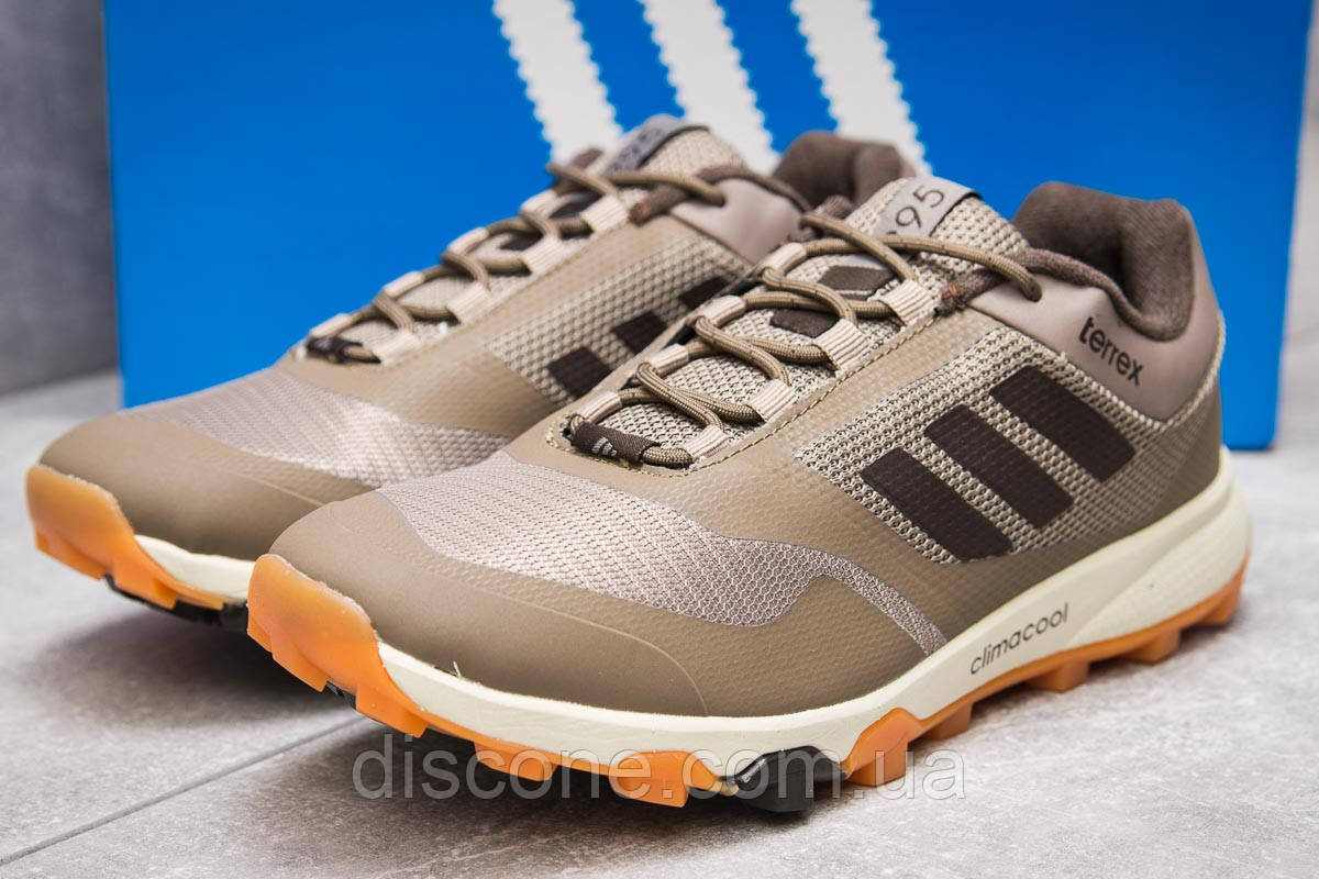 Кроссовки мужские 13896 ► Adidas Climacool 295, серые ✅Скидка 28% [ 43 44 ] ► (43-26,9см)