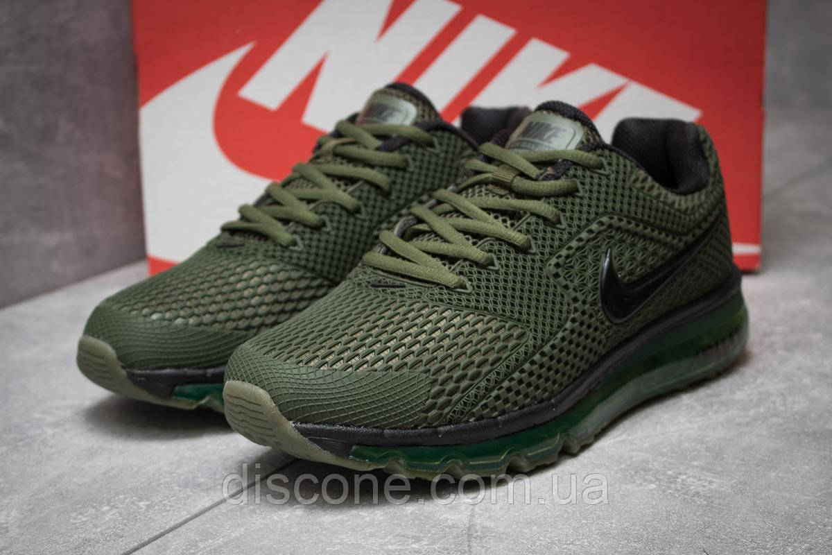 Кроссовки мужские 14204 ► Nike Air Max 2018, хаки ✅Скидка 25% [ 45 ] ► (45-28,8см)