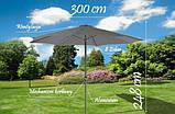 Парасолька для садка, 3 м Польща, фото 4