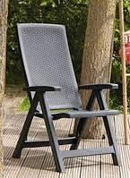 Набор садовой мебели MONTREAL / LIMA 6 + 1 графитовый