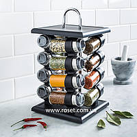 Набор 16 емкостей для специй Kitchen Spice Rack - спецовница