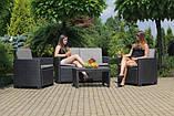 Набір садових меблів EDEN Technorattan EUROHIT, фото 4