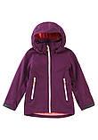 Демисезонная куртка-ветровка для девочки Reima Softshell Vandra 531414-4960. Размеры 104 - 152., фото 4