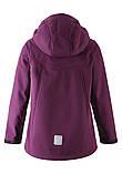 Демисезонная куртка-ветровка для девочки Reima Softshell Vandra 531414-4960. Размеры 104 - 152., фото 2