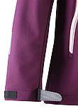 Демисезонная куртка-ветровка для девочки Reima Softshell Vandra 531414-4960. Размеры 104 - 152., фото 5