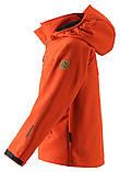Демисезонная куртка для мальчика Reima Softshell Vild 531415-2770. Размеры 104 - 164., фото 3