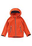 Демисезонная куртка для мальчика Reima Softshell Vild 531415-2770. Размеры 104 - 164., фото 4