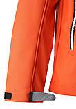 Демисезонная куртка для мальчика Reima Softshell Vild 531415-2770. Размеры 104 - 164., фото 5