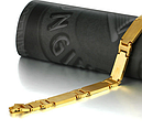 Браслет Мужской Золото с крестиком, фото 4