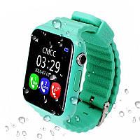 Детские умные GPS часы V7K Green SBWV7KG, КОД: 148794
