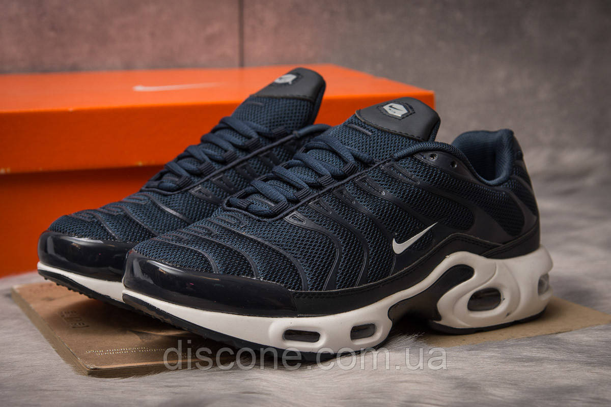 Кроссовки мужские 15044 ► Nike Tn Air, темно-синие ✅Скидка 28% [ 44 45 ] ► (44-28,5см)