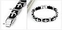 Браслет Мужской  браслеты ювелирные изделия из стали, фото 3