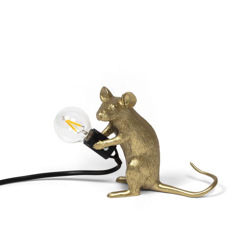 Лампа Mouse, золото