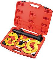 """Стяжка пружин универсальная для подвески типа """"Макферсон"""", усиленная, c защитными накладками LICOTA"""