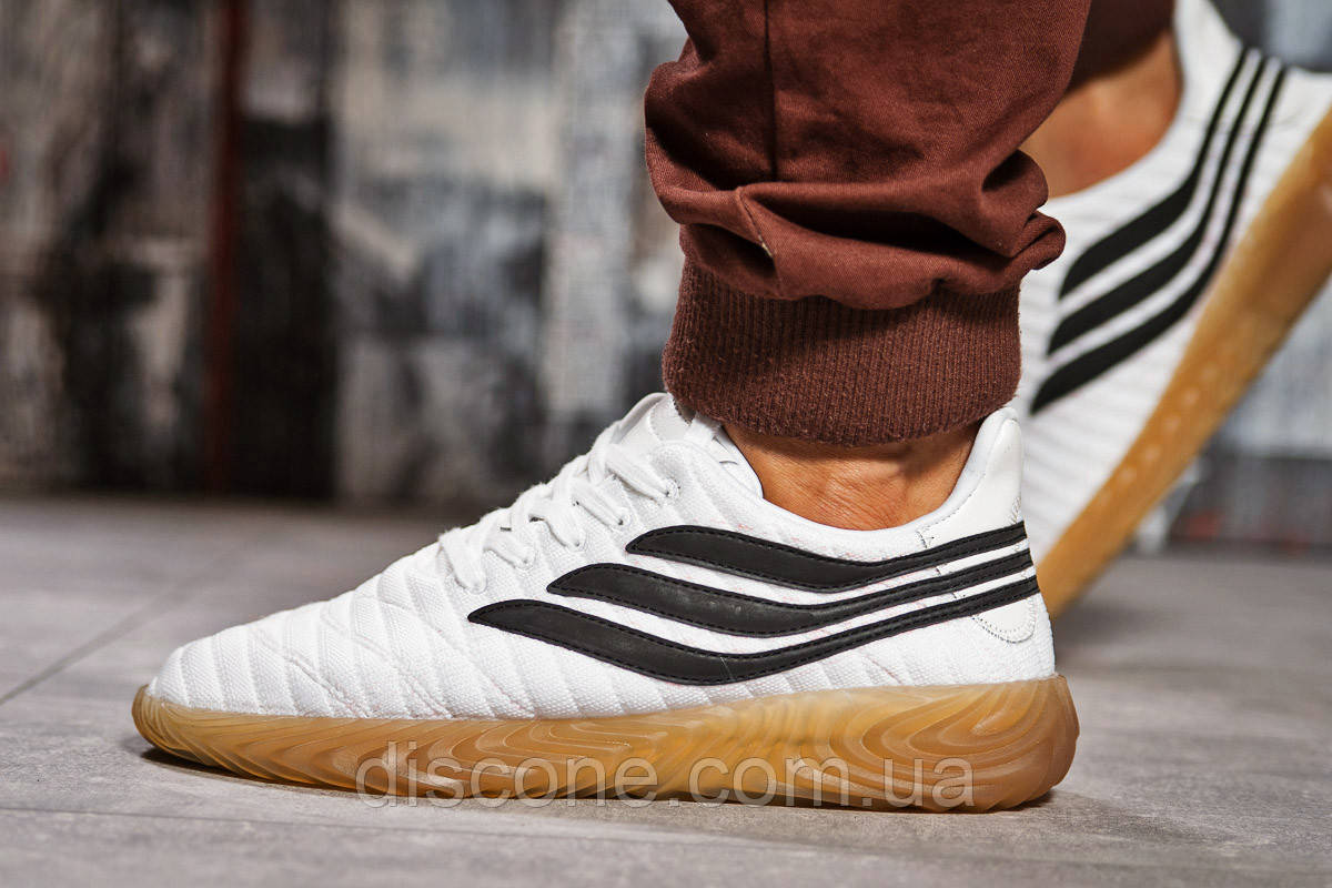 Кроссовки мужские 15402 ► Adidas Sobakov, белые ✅SALE! 31% [ 44 ] ► (44-28,0см)