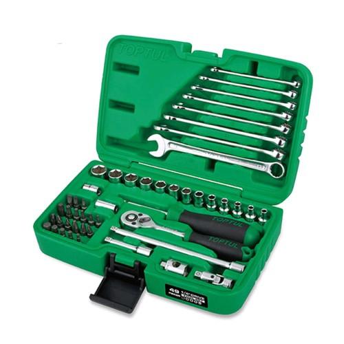 """Набор инструмента  1/4"""" + ключи  49ед.  TOPTUL GCAI4901"""