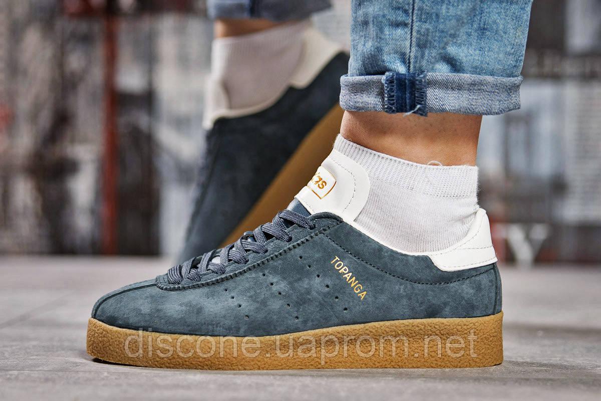 Кроссовки женские 15464 ► Adidas Topanga, темно-серые ✅SALE! 24% [ 38 ] ► (38-24,0см)