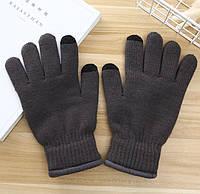 Перчатки утепленные для сенсорных экранов iFrost gray