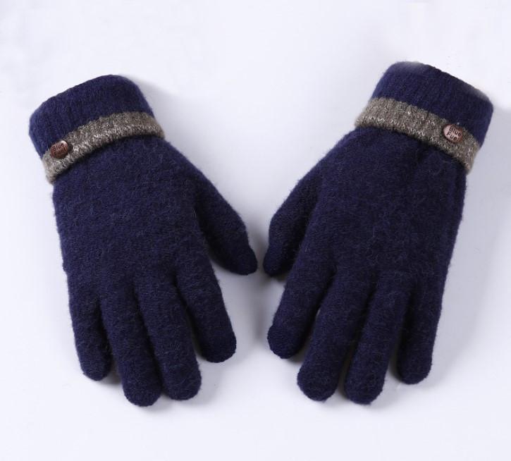 Мужские перчатки для сенсорных экранов BlueFuel blue